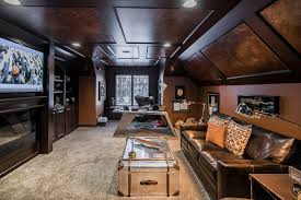man cave home office. Ultimate Man Cave Eclectic-home-office-and-library Home Office N