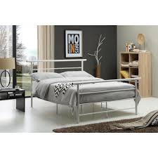 Hodedah White Queen Bed Frame
