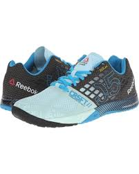 reebok crossfit shoes blue. reebok - crossfit nano 5.0 (cool breeze/black/far out blue) women\u0027s crossfit shoes blue b
