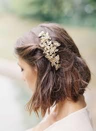 Les Plus Belles Coiffures De Mariage Sur Cheveux Courts