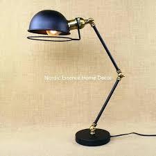 swing arm desk lamps desk swing arm desk lamp french horn loft machinery retro creative