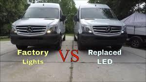 Mercedes Sprinter Side Light Bulb Mercedes Sprinter Led Running Lights Diy Rv Conversion New Sprinter
