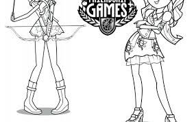 Small Picture Equestria Girls Coloring Pages Stunning Good Equestria Girls