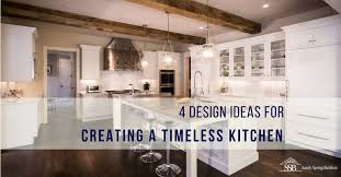 40 Design Ideas For Creating A Timeless White Kitchen Sandy Spring Beauteous Timeless Kitchen Design Ideas