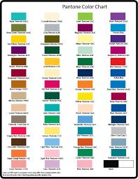 Basic Pantone Color Chart Atkins Curling Supplies Promo