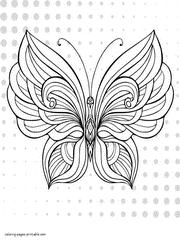 They're great for all ages. 30 Butterfly Coloring Pages For Adults New