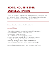 17 laundry attendant job description housekeeping job duties