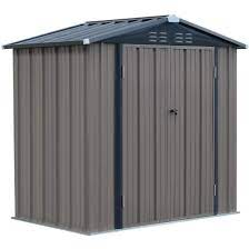 sheds 6x4 ft outdoor metal garden shed