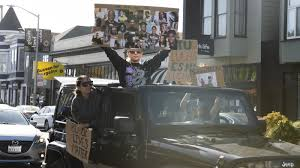 <b>Caravan For</b> Justice: Cars Offer Socially Distanced Protesting ...
