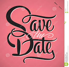 Save The Date Images Free Save The Date Hand Lettering Vector Stock Vector