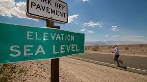 running Death Valley ultramarathon ...