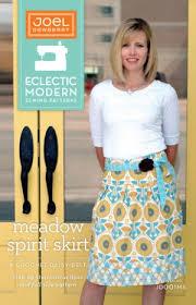 Modern Sewing Patterns Custom Joel Dewberry Eclectic Modern Sewing Patterns Meadow Spirit Skirt