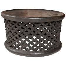 west african cameroon drum table 1