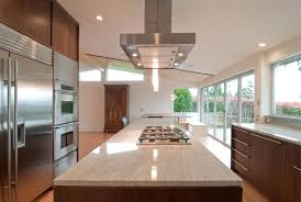 Kitchen Exhaust System Design Interior Long Stainless Vent Hood Industrial In An Industrial