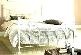 white metal queen bed. Brilliant Queen White Wrought Iron Bed Metal Queen Frame  To White Metal Queen Bed N