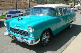 1955 Chevrolet Bel Air 4 Door Station Wagon