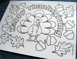Small Picture 37 best thanksgiving coloring pics images on Pinterest Drawings