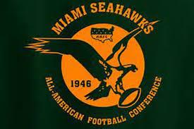 1972 Miami Dolphins Depth Chart Miamis Pro Football History The Miami Seahawks Dawgs By