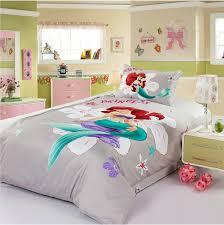 girly queen comforter sets little mermaid bed set bedding all modern 7