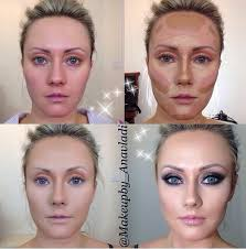 how to highlight and contour for a perfect makeup
