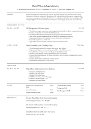 Here are some other helpful tips: College Admissions Resume Examples Writing Tips 2021 Free Guide