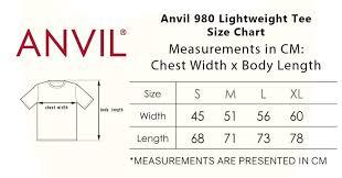 Anvil 980 Lightweight Tee