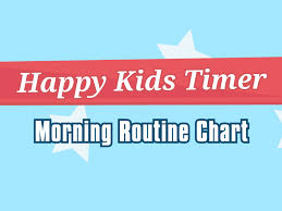 Morning Routine Printable Chart Download Free Printable Morning Routine Chart