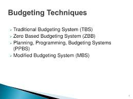Ppt Budgeting Techniques Powerpoint Presentation Id 4733567