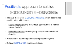 suicide revision sociology a who what to include in a suicide es  positivists approach to suicide 9