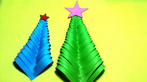 christmas tree decorations from paper