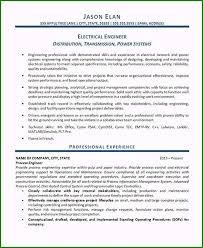 Example Engineer Resumes Striking Electrical Engineer Resume Sample You Must Know
