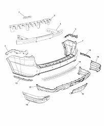 2014 dodge durango fascia rear diagram i2302797