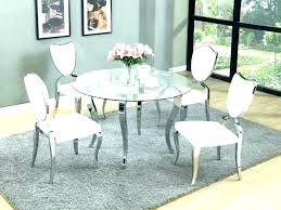 full size of small glass dining table 2 chairs black and round room tables within furniture