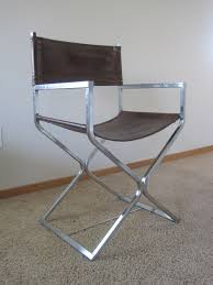 black leather and chrome directors chairs chair design ideas