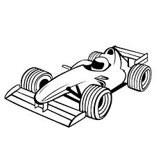 Auto Kleurplaat Ferrari