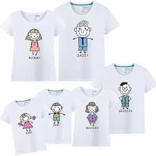 <b>1 piece Family</b> cultivate Love Summer Short sleeve T shirt Matching ...