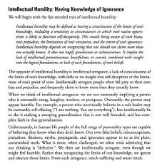 essay on humility essay topic true humility is intelligent self respect