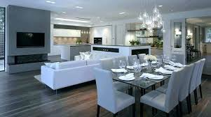 open living and dining room designs open concept living room small open concept kitchen open small