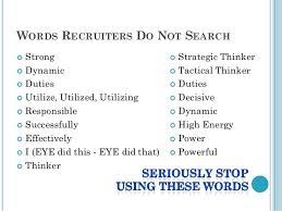 Power Words For A Resumes Zromtk Extraordinary Resume Power Verbs
