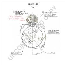 Delco remy starter wiring diagram lovely starter motor product details