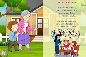 Yang selalu bersinar di langit. Lirik Lagu Jika Ibu Tua Nanti Yang Diciptakan Oleh At Mahmud Sonora Id