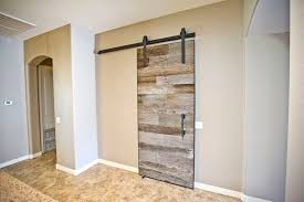sliding barn doors. hereu0027s a modern contemporary sliding barn door we madeinstalled for customer in goodyear az made the with our reclaimed tobacco grey doors l