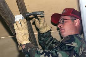 Us Air Force Staff Sergeant Russell Bengry Electrician 823rd Red