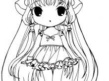 Anime Drawing Pages Anime Wolf Girl Coloring Pages Link9 Easy