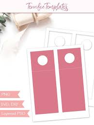 Hang Tag Template New Wine Bottle Hang Tag Template Party Printable Craft Template Etsy