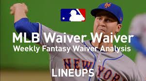 Mlb Fantasy Baseball Waiver Wire Pickups Week 22
