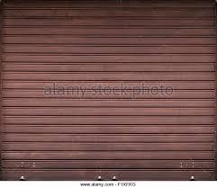metal garage doorsBrown Metal Garage Door Stock Photos  Brown Metal Garage Door