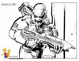 Small Picture Stunning Halo Reach Coloring Pages Photos Within 5 itgodme