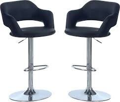 hydraulic bar stools. Accent And Occasional Furniture - Hydraulic Bar Stool Package \u2013 Black Stools L
