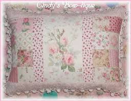 Pillows | originalsbycindy ArtFire Shop & Sage Pillow Pink Cottage Rose Chenille Shabby Green Roses Flowers Adamdwight.com